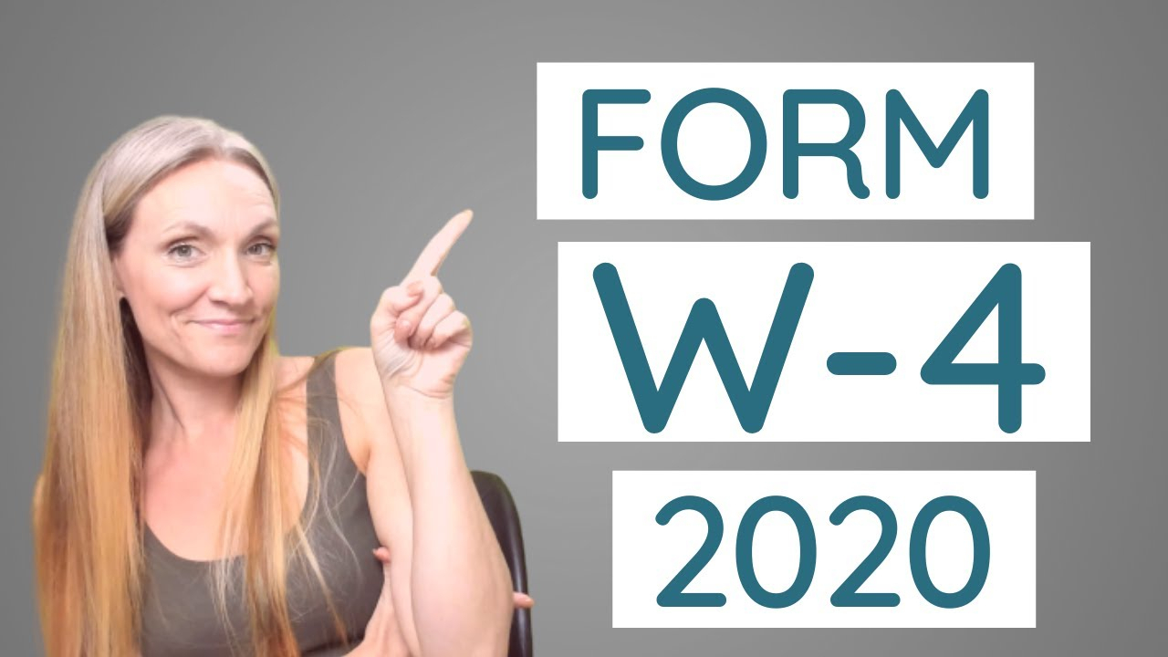 W4 Form Printable 2021 in 2021 W-4 Form Printable