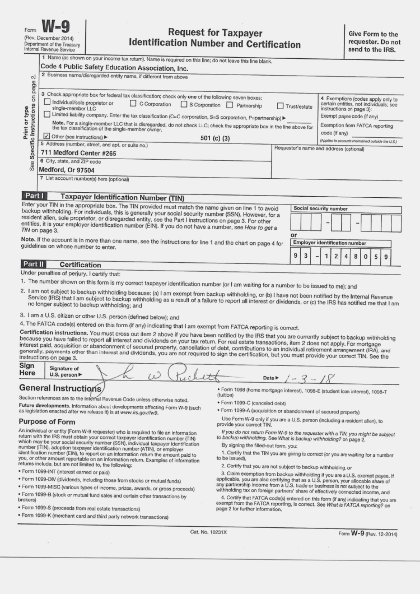 W9 Form Printable, Fillable, Blank 2019 & 2020 with Form W-9 Printable