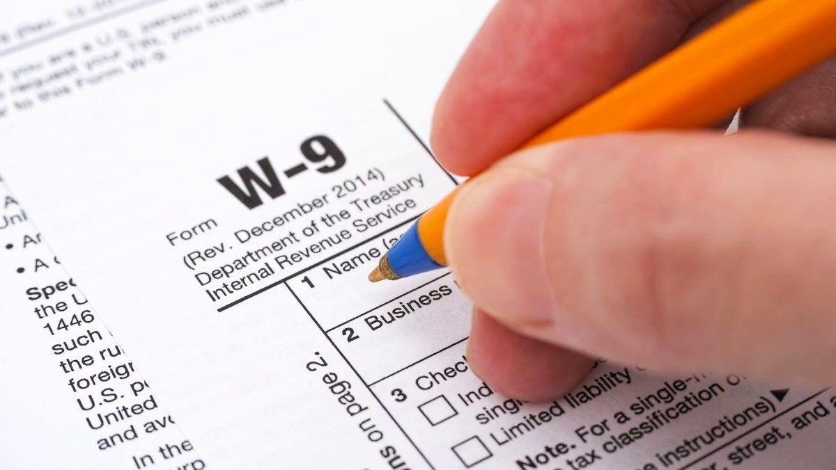 W9 Forms 2020 Printable regarding Irs W-9 2021
