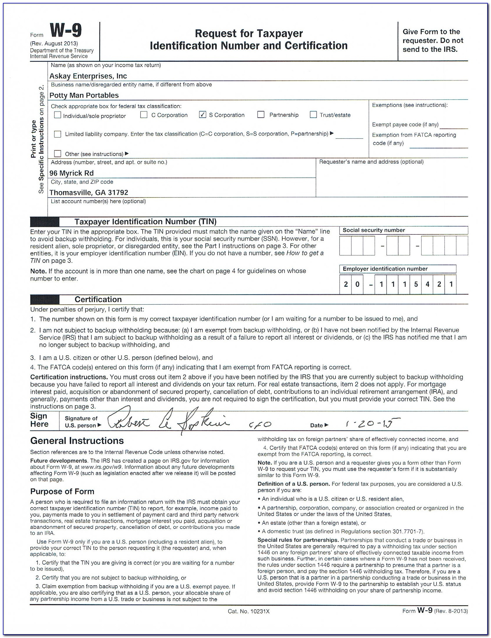W9 Free Printable Form 2016 | Vincegray2014 for Free W 9 Form