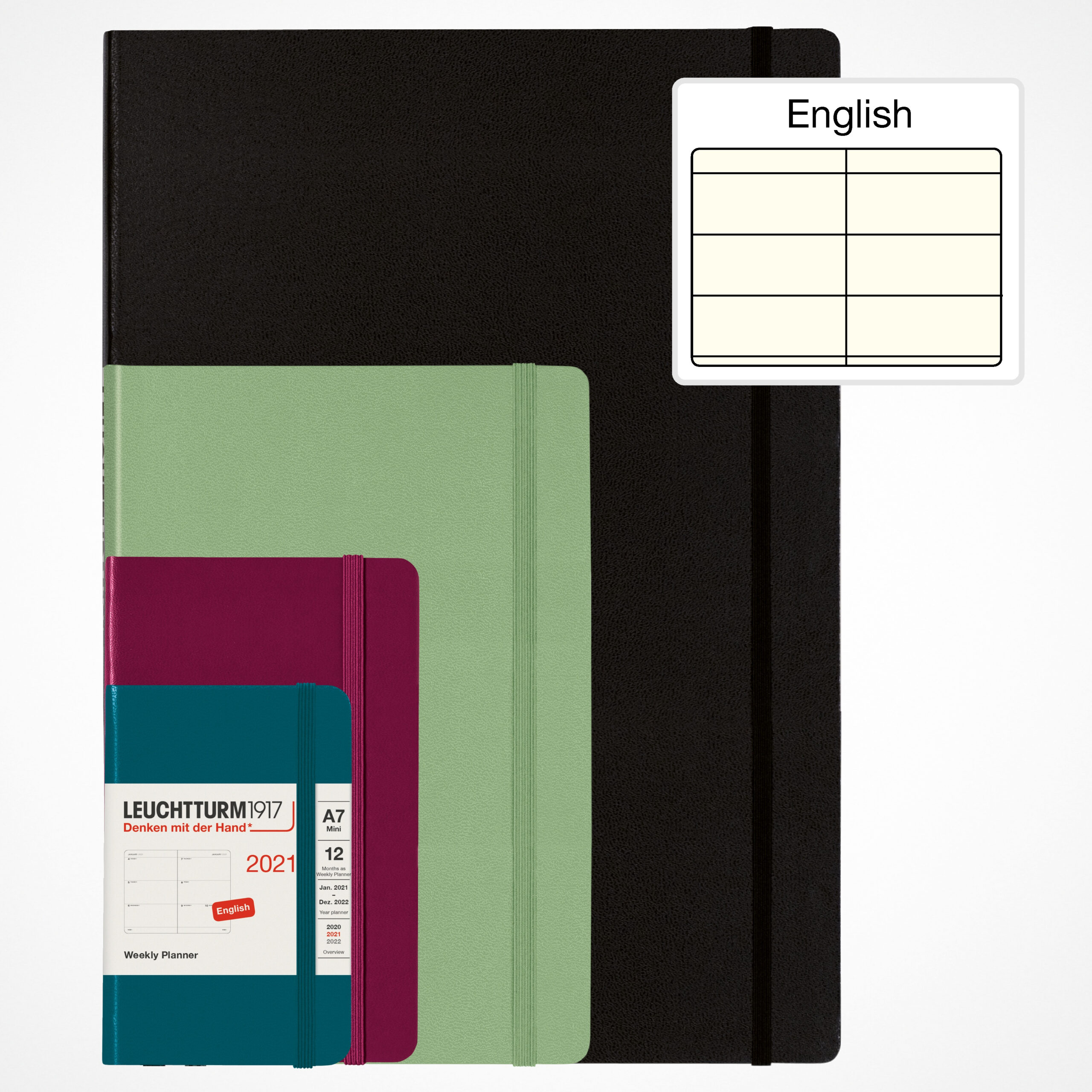 Weekly Planner 2021 With Booklet For Addresses And Birthdays in 2021 Pocket Sized Weekly Planner: