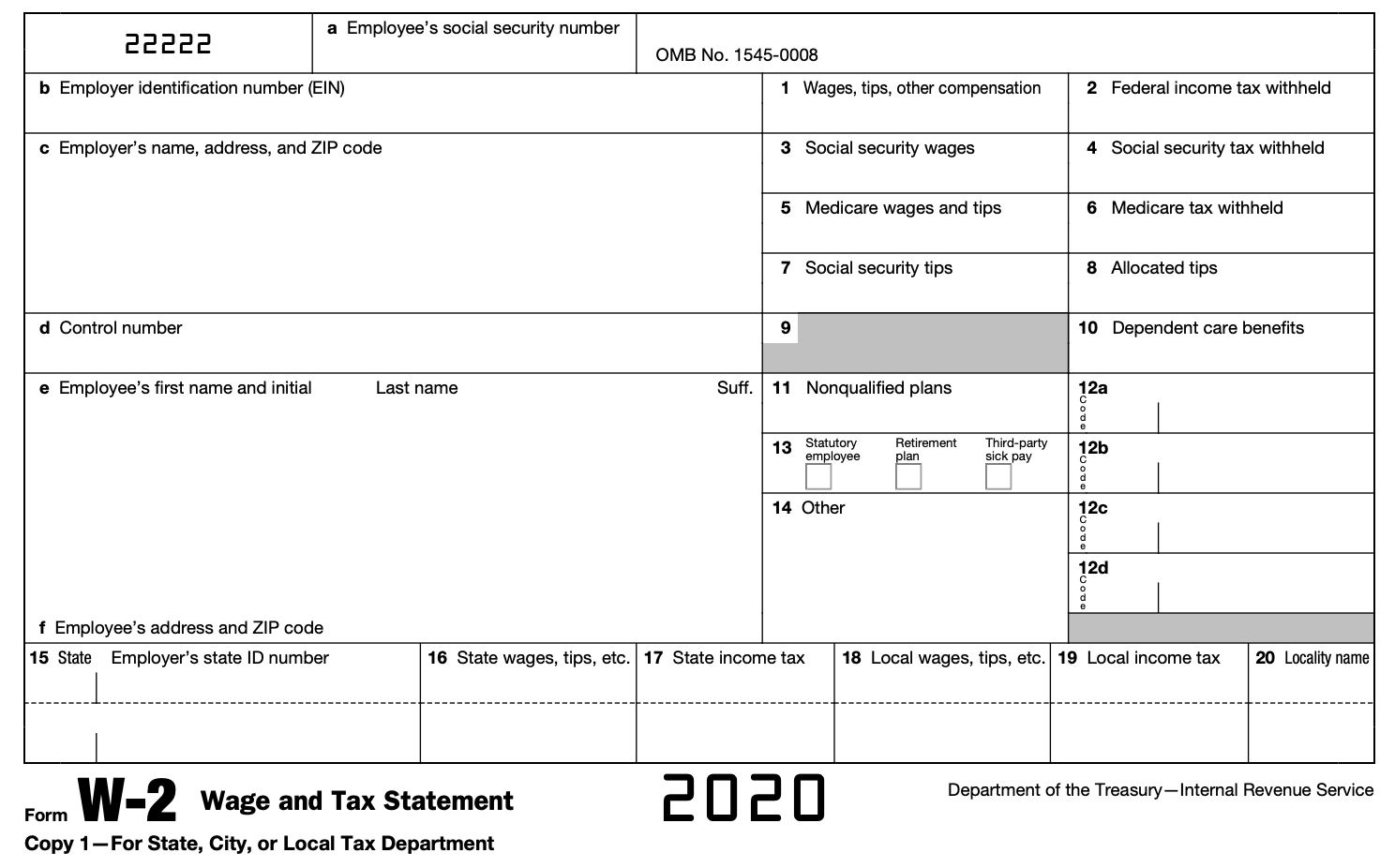 What Is A W-2 Form? - Turbotax Tax Tips & Videos for 2021 W-4 Form Printable