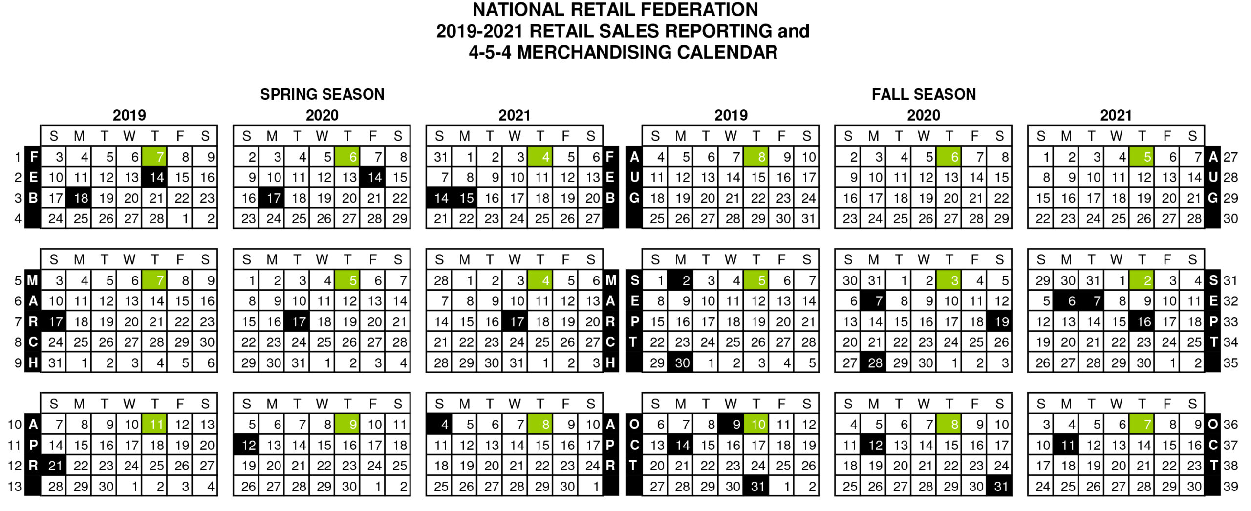 What Is The 4-5-4 Retail Calendar, And Should I Use It In My regarding Calendario 4-4-5 2021