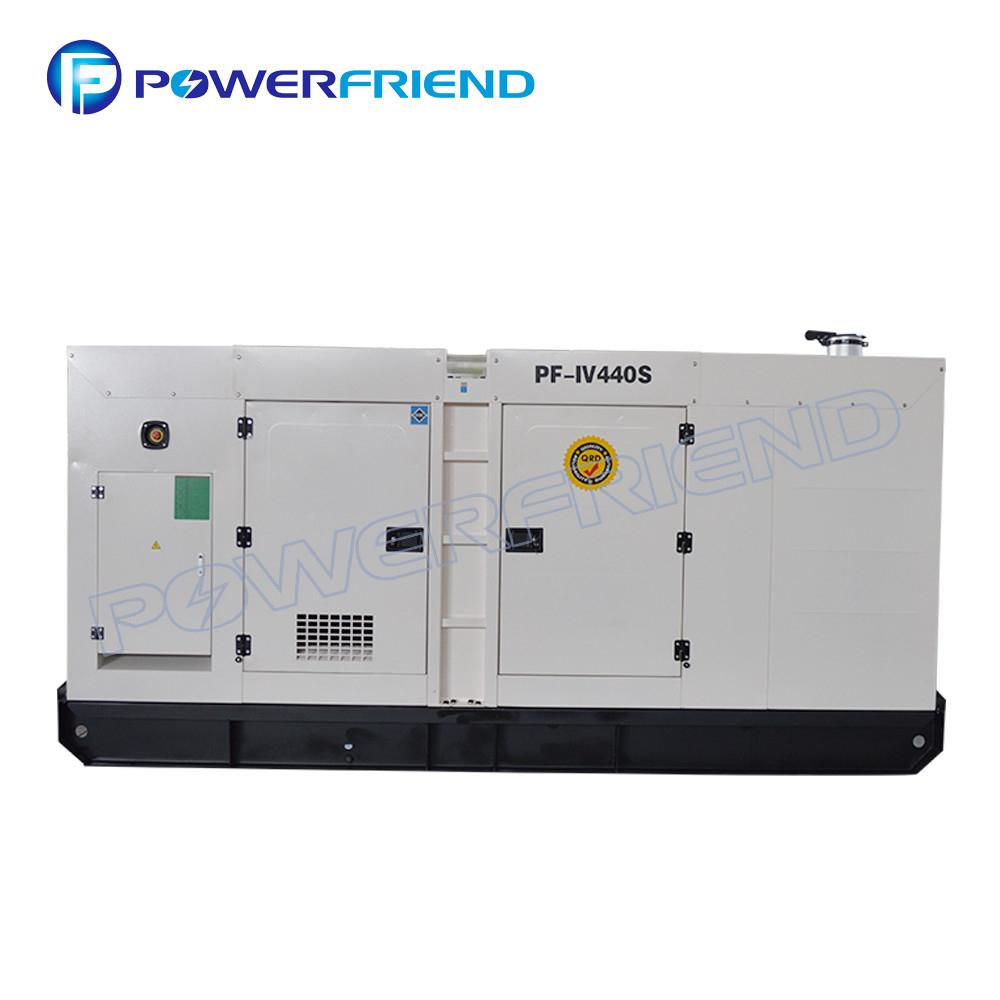 White 3 Phase Iveco Diesel Generator Prime Power 300Kw With Italy Engine regarding Primepower Sri Lanka