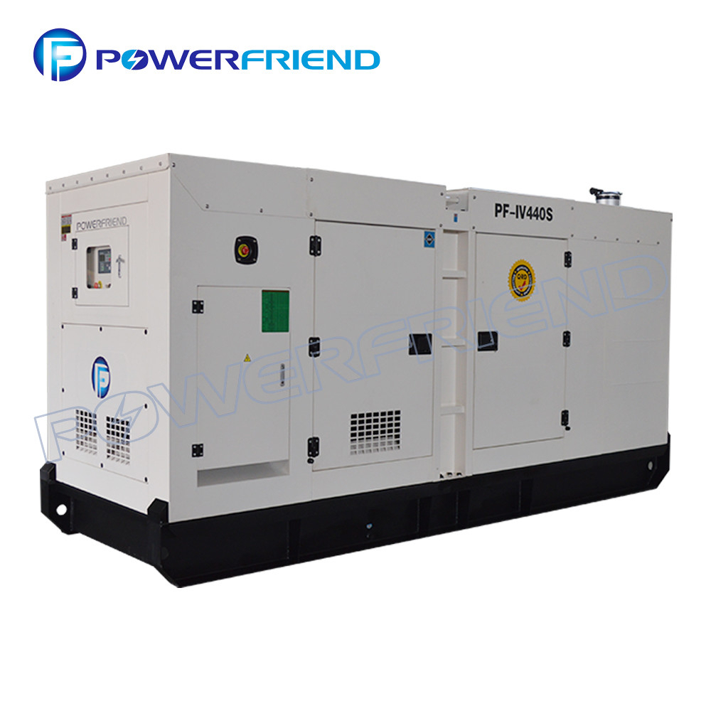 White 3 Phase Iveco Diesel Generator Prime Power 300Kw With Italy Engine with regard to Primepower Sri Lanka