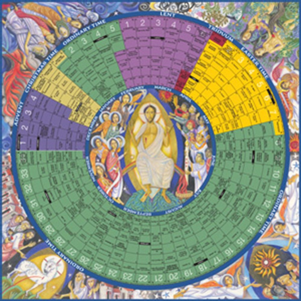 Year Of Grace Liturgical Calendar Poster | Catholic with regard to Catholic Liturgical Calender Year C: