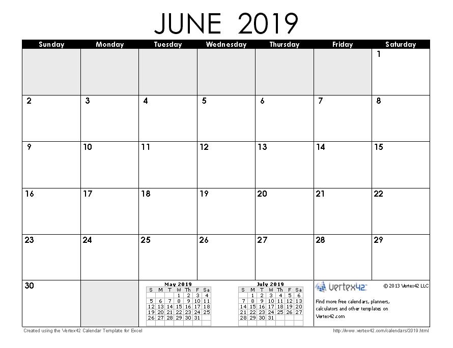 2019 Calendar Templates And Images regarding Vertex Yearly Calendar