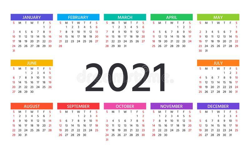2021 Calendar In Excelweek | Calendar Printables Free intended for Printable Calendars 2021 Sunday To Saturday