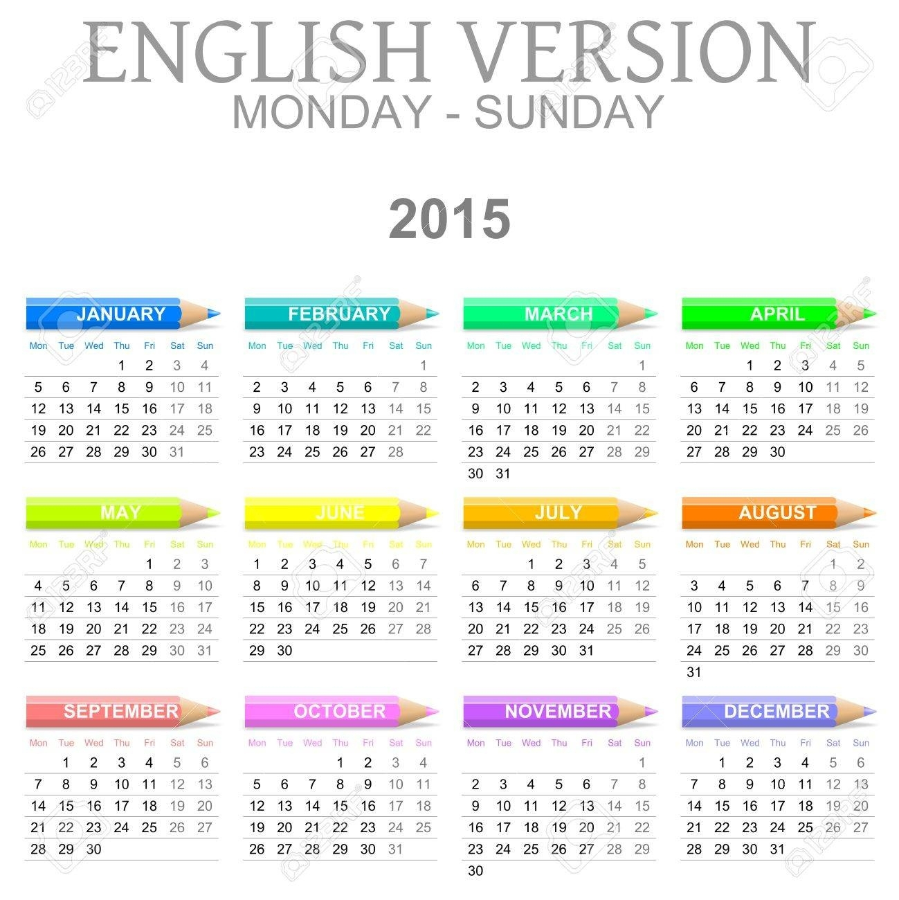 2021 Calendar That Shows Only Monday Through Friday in Calendar 2021 Monday Through Sunday