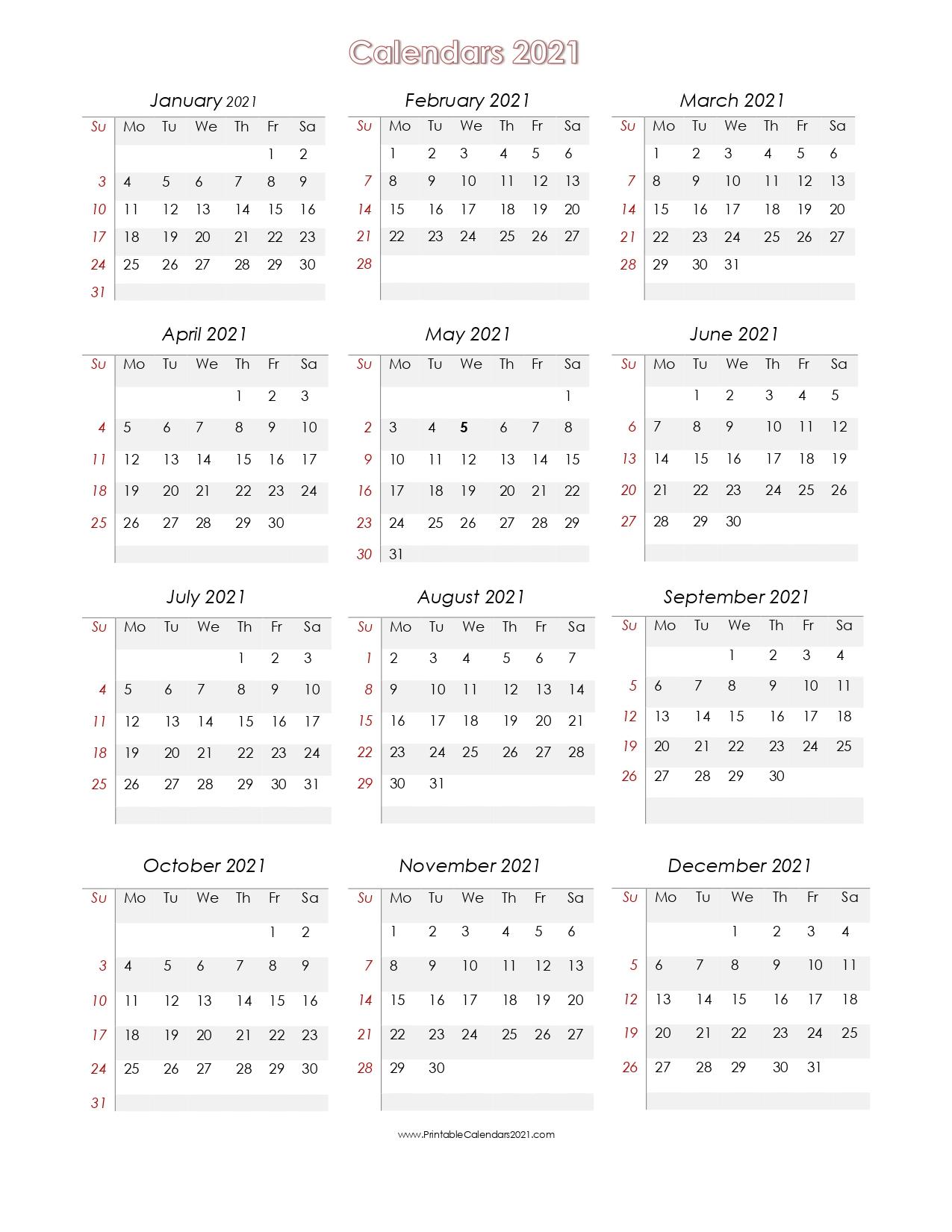 2021 Calendar To Fill In | Calendar Template Printable within Fill In Calendar Printable 2021