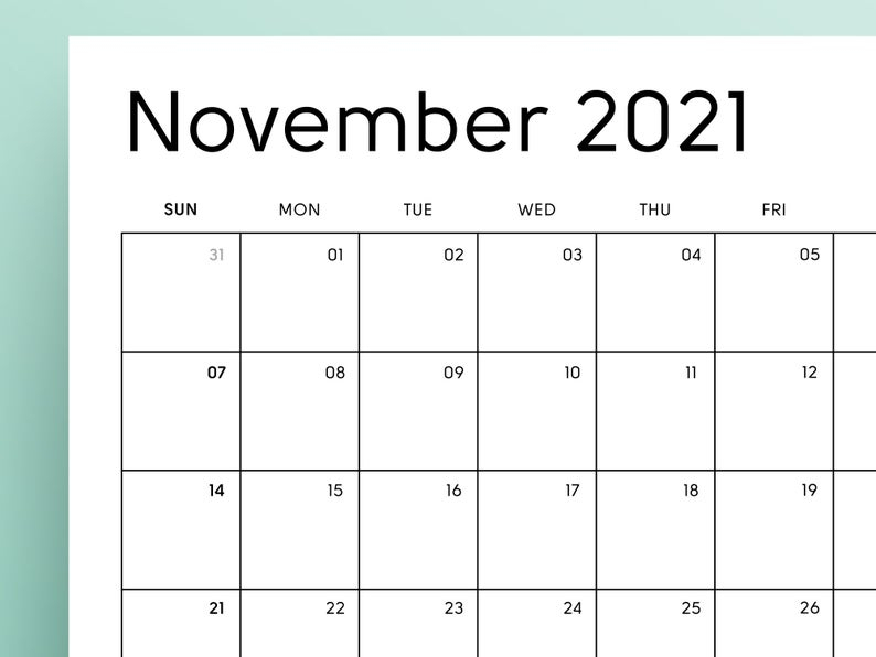 2021 Printable Calendar Sunday & Monday Start 2021 Monthly regarding Printable Calendars 2021 Sunday To Saturday