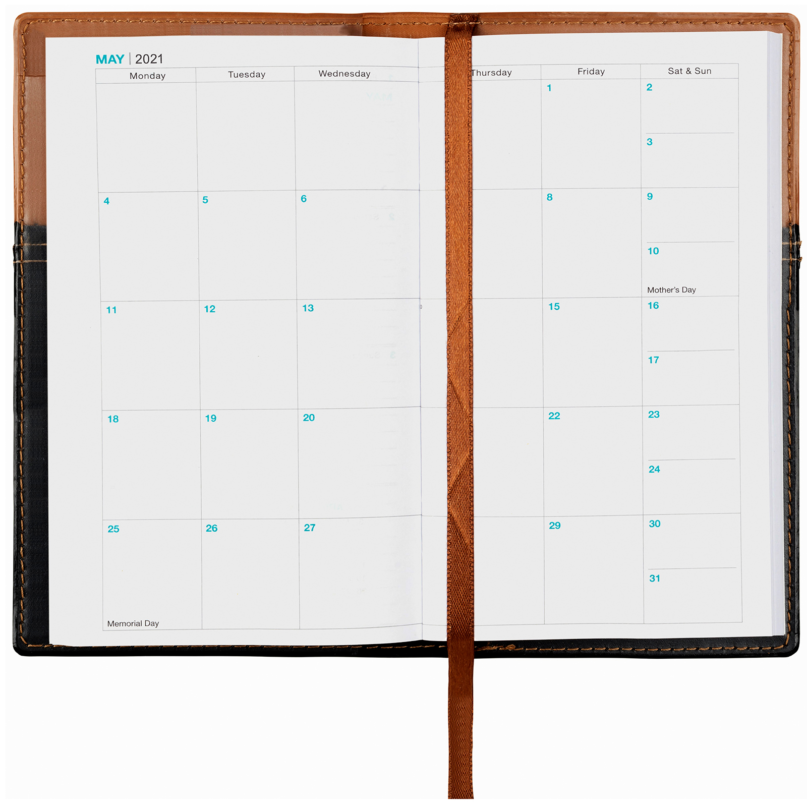 2021 Weekly Pocket Planner/Pocket Calendar - 14 Months intended for Monthly Planner 2021 With Pockets