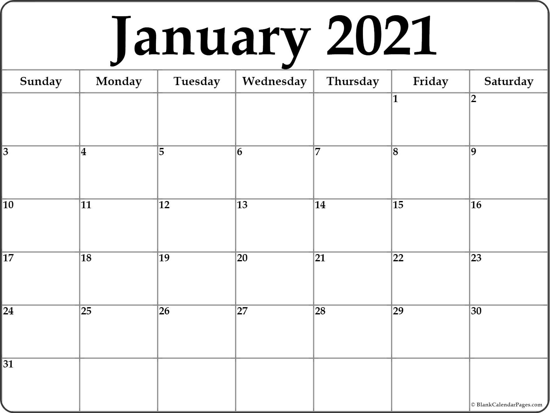 2021 Yearly Calendar With Boxes | Calendar Printables Free within Wv 2021 Rut