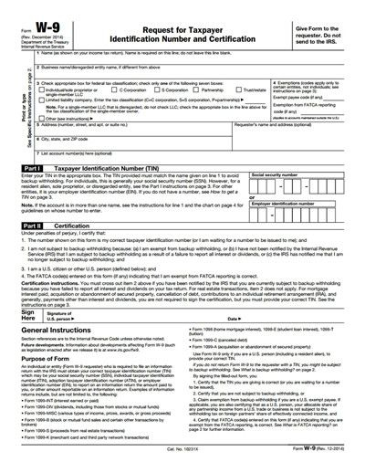28 Free Download W9 Form In 2020   Irs Forms, Fillable for Print Free W9 Form