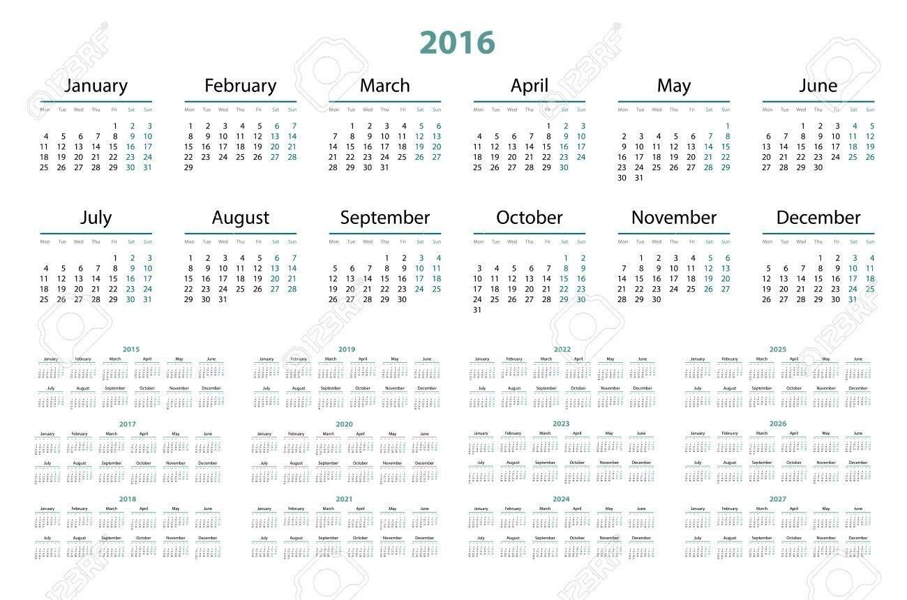 3 Year Calendars 2021 2022 2023 Free Printable | Calendar pertaining to 2021-2022 Three 3 Year Planner
