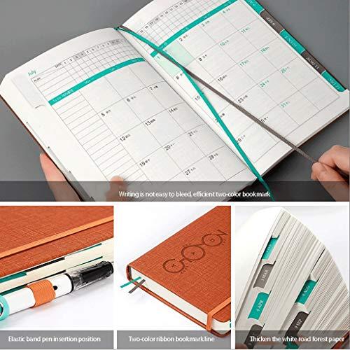 """Agenda 2021 2021 Pocket Planner/Calendar,10.4""""×7.7"""",365 for 2021-2021 Planner: 2-Year Planner"""