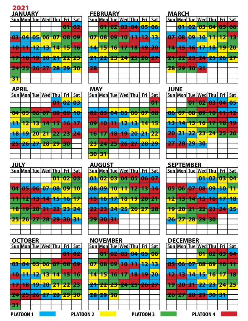 B Shift Calendar 2021   Calendar Printables Free Templates intended for Free Shift Calendar