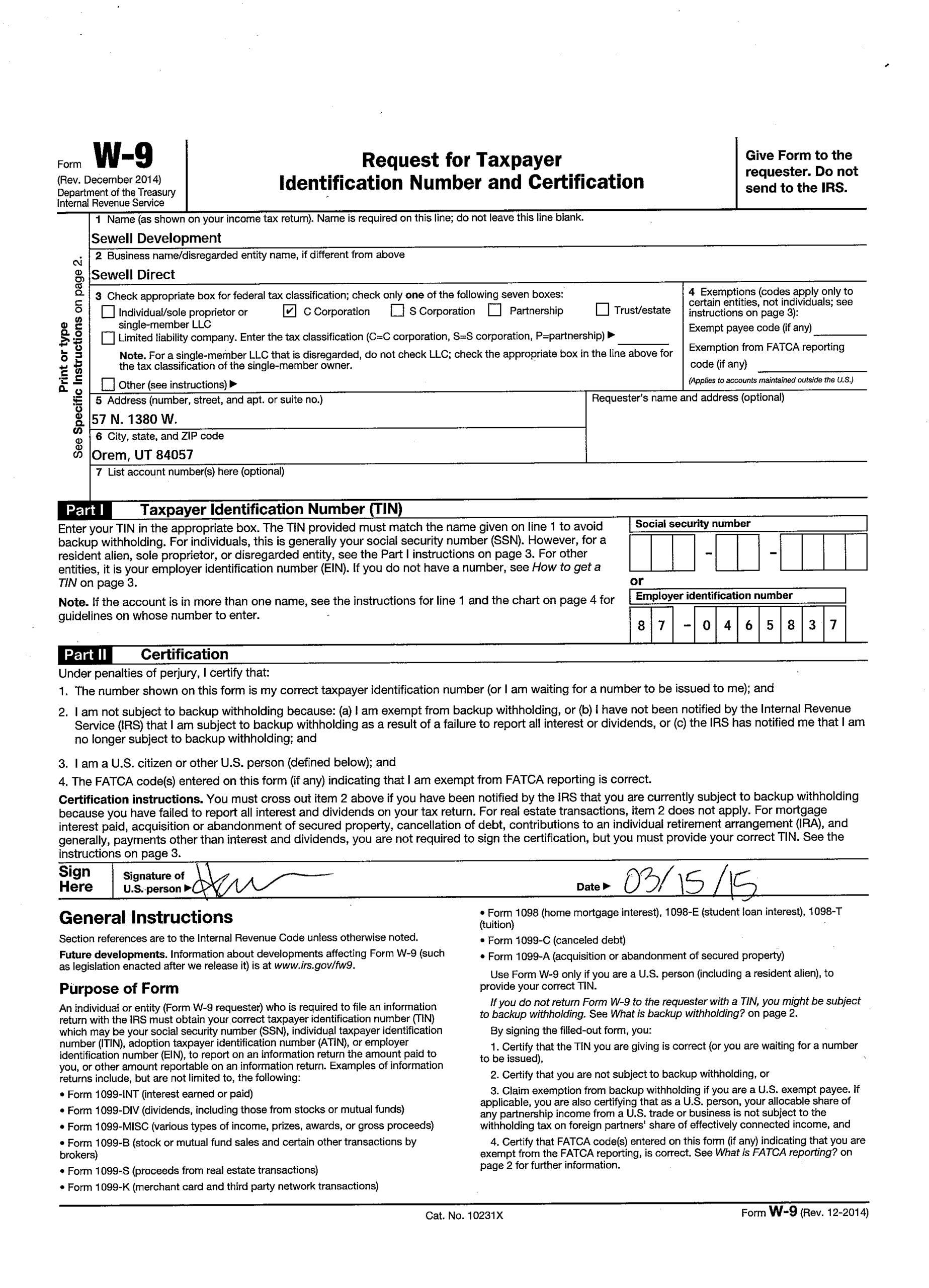 Blank 2020 W9 Form | Example Calendar Printable within Blank I 9 Form Printable