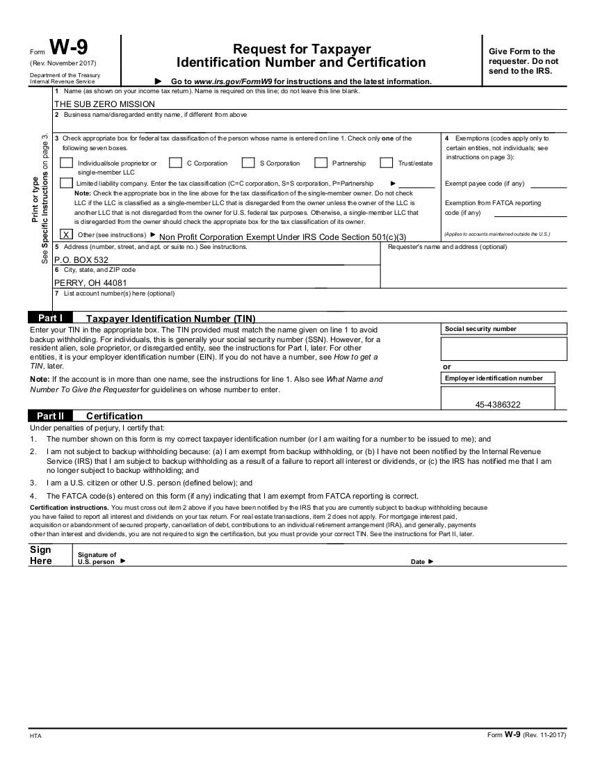 Blank W9 2020 Printable Pdf | Calendar Template Printable throughout W 9 Forms To Print