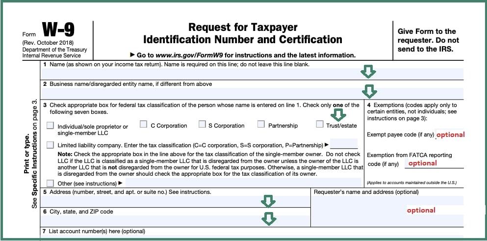 Blank W9 Form In Pdf | Downoad 2021 W9 Blank Form Free for W-9 Form 2021 Printable Pdf