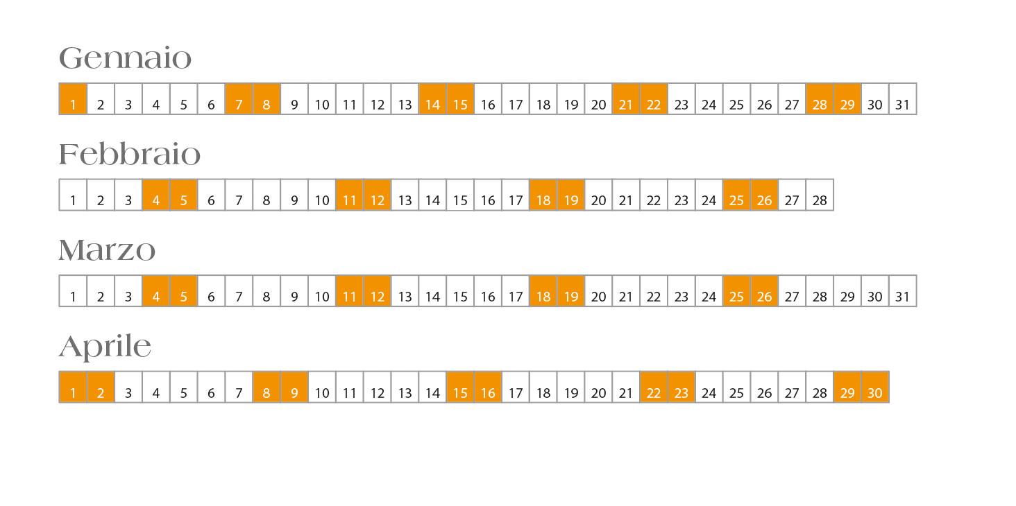 "Calendari Automatici Con Lo Script ""Calendar Wizard within Calendar Wizard Indesign"