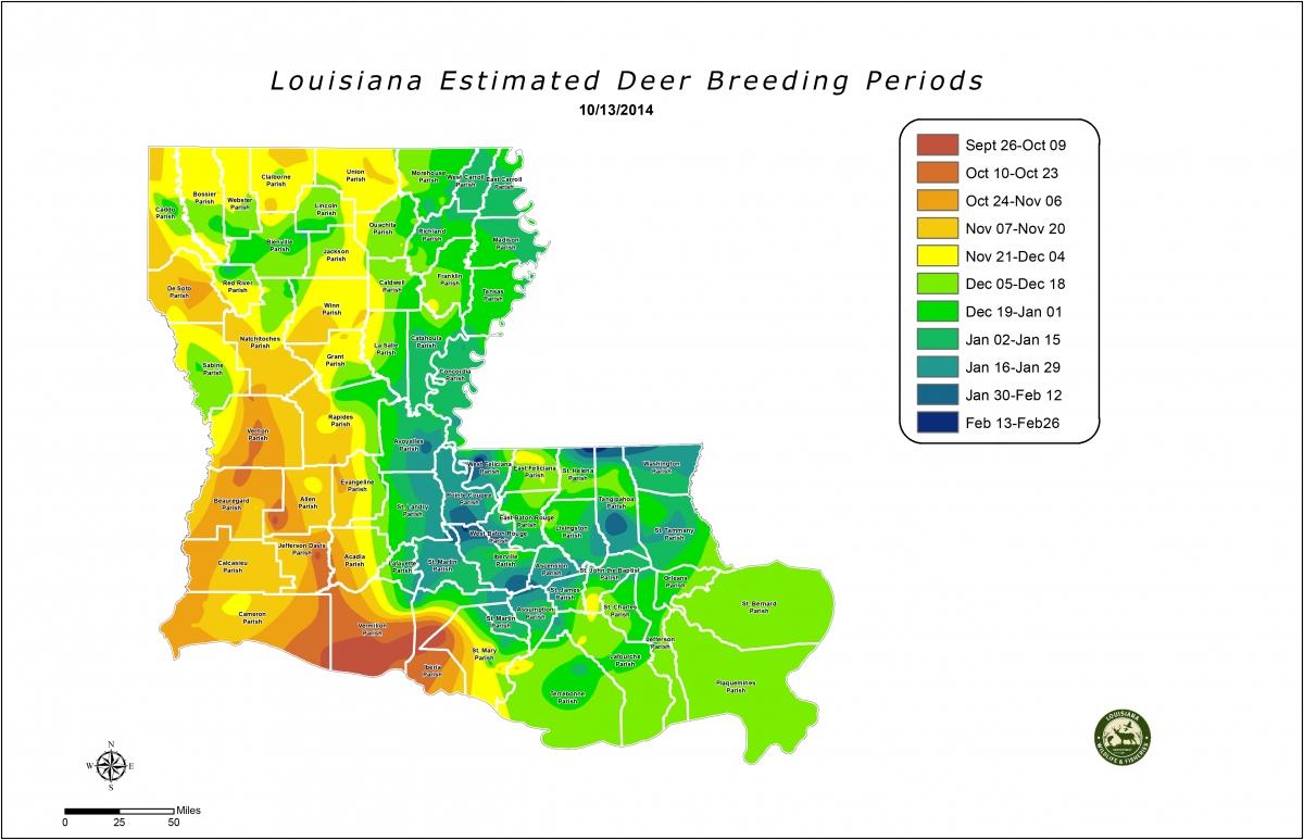 Deer Rut Calendar - Template Calendar Design in Georgia Rut Map