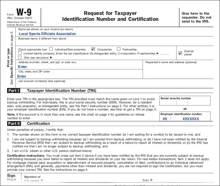 Downlodable Freeware: Download W9 Tax Form for W 9 Forms To Print