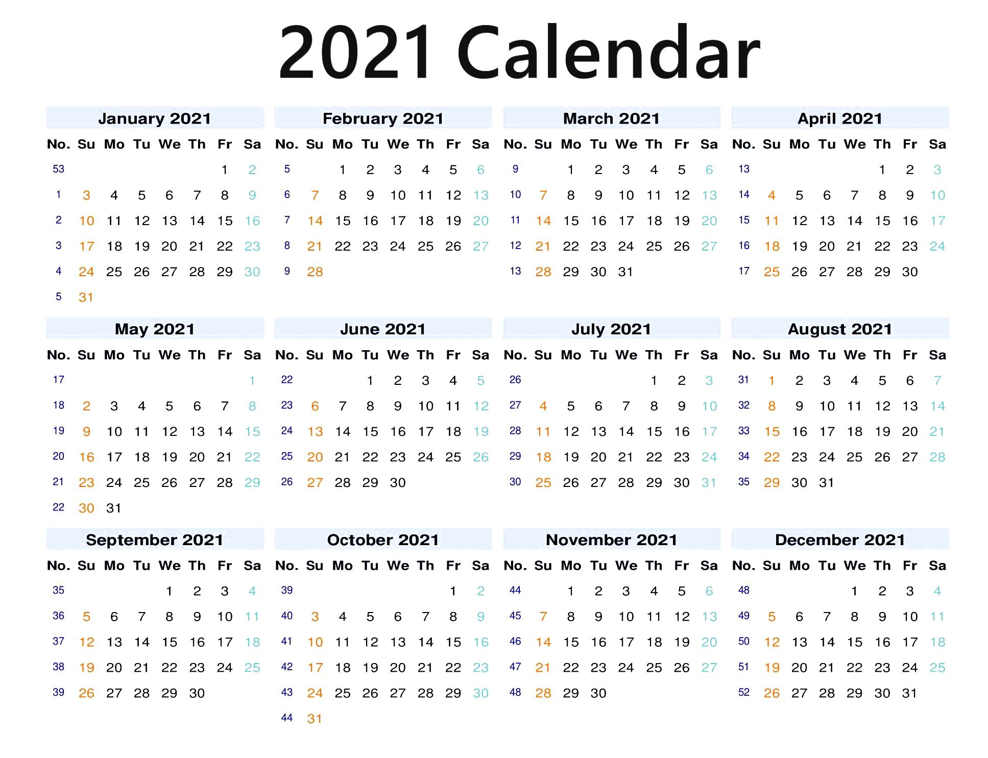 Fill Andprint A Calendar 2021   Calendar Printables Free Blank regarding Waterproof Calendars Printable 2021