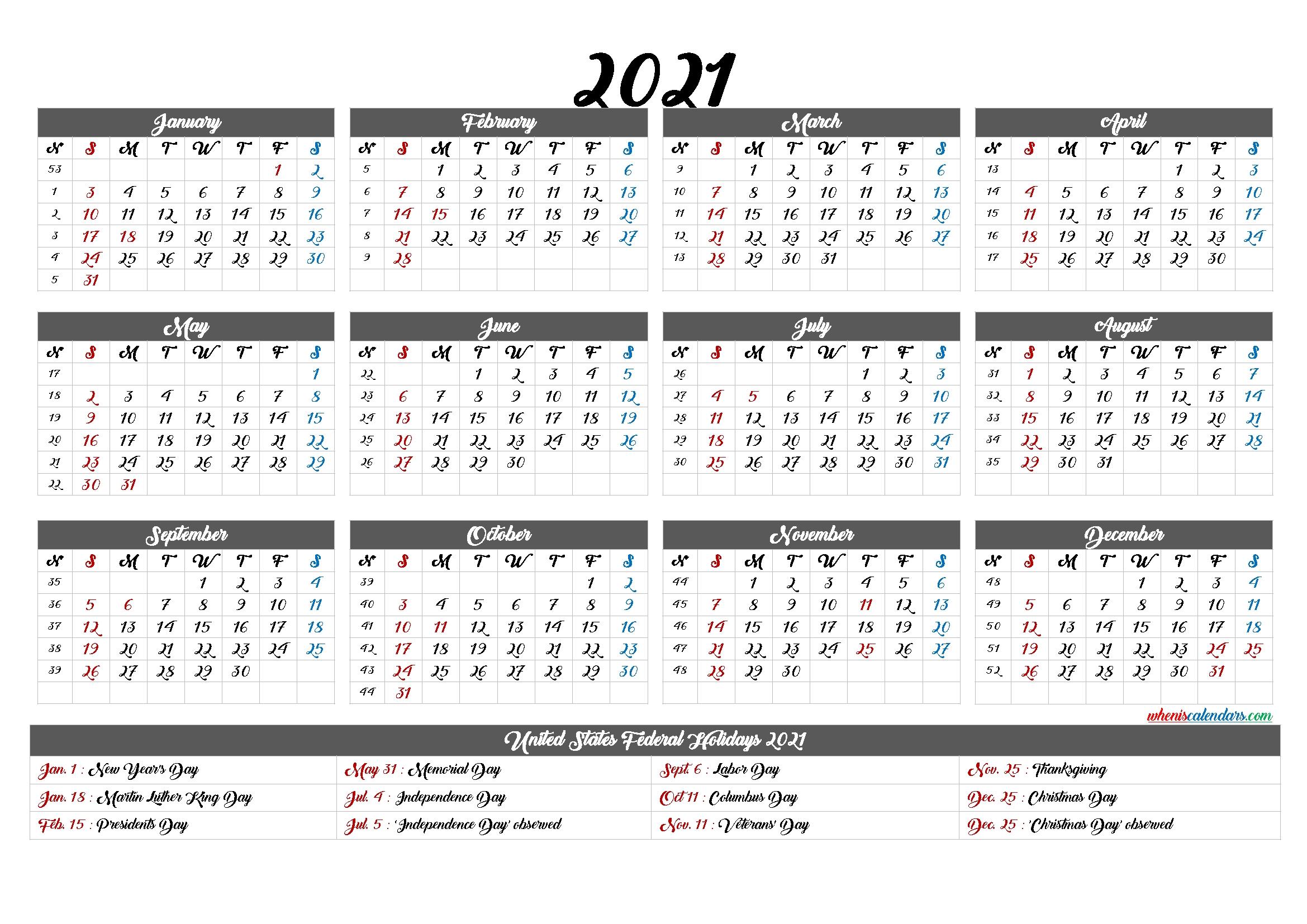Fill In Calendar 2021 | Calendar Template Printable for Fill In Calendar Printable 2021