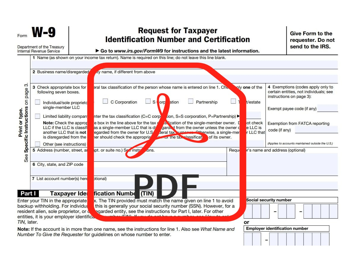 Form   W-9 Forms 2021 Printable within Pdf W 9 Form