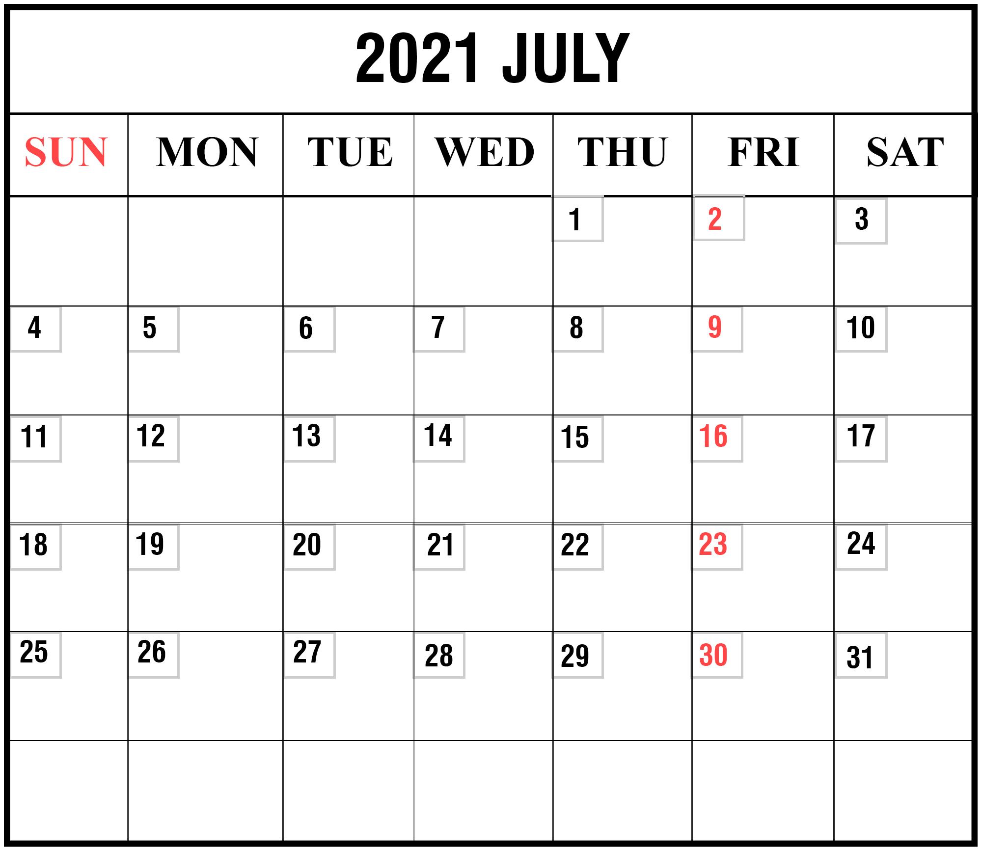Free Blank Printable Monthly Calendar 2021 | Calendar in Wv 2021 Rut