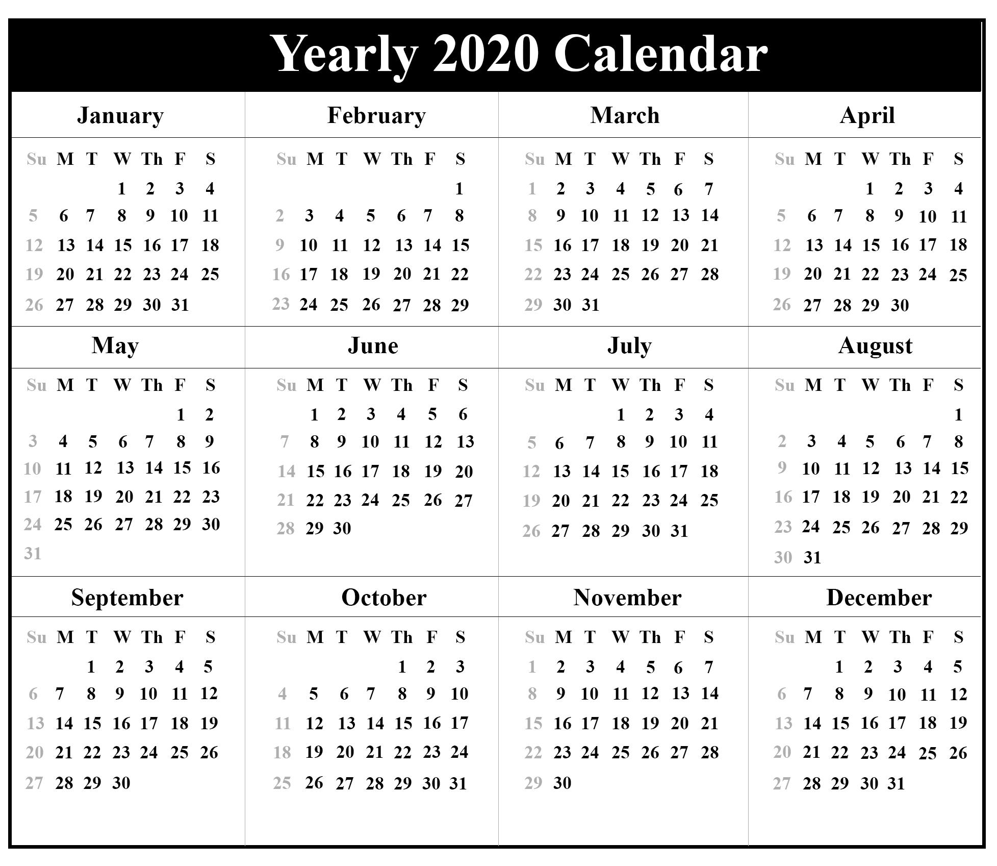 Free Printable Pocket Calendars 2021   Calendar Printables inside 2021 Pocket Planner: Yearly Calendar