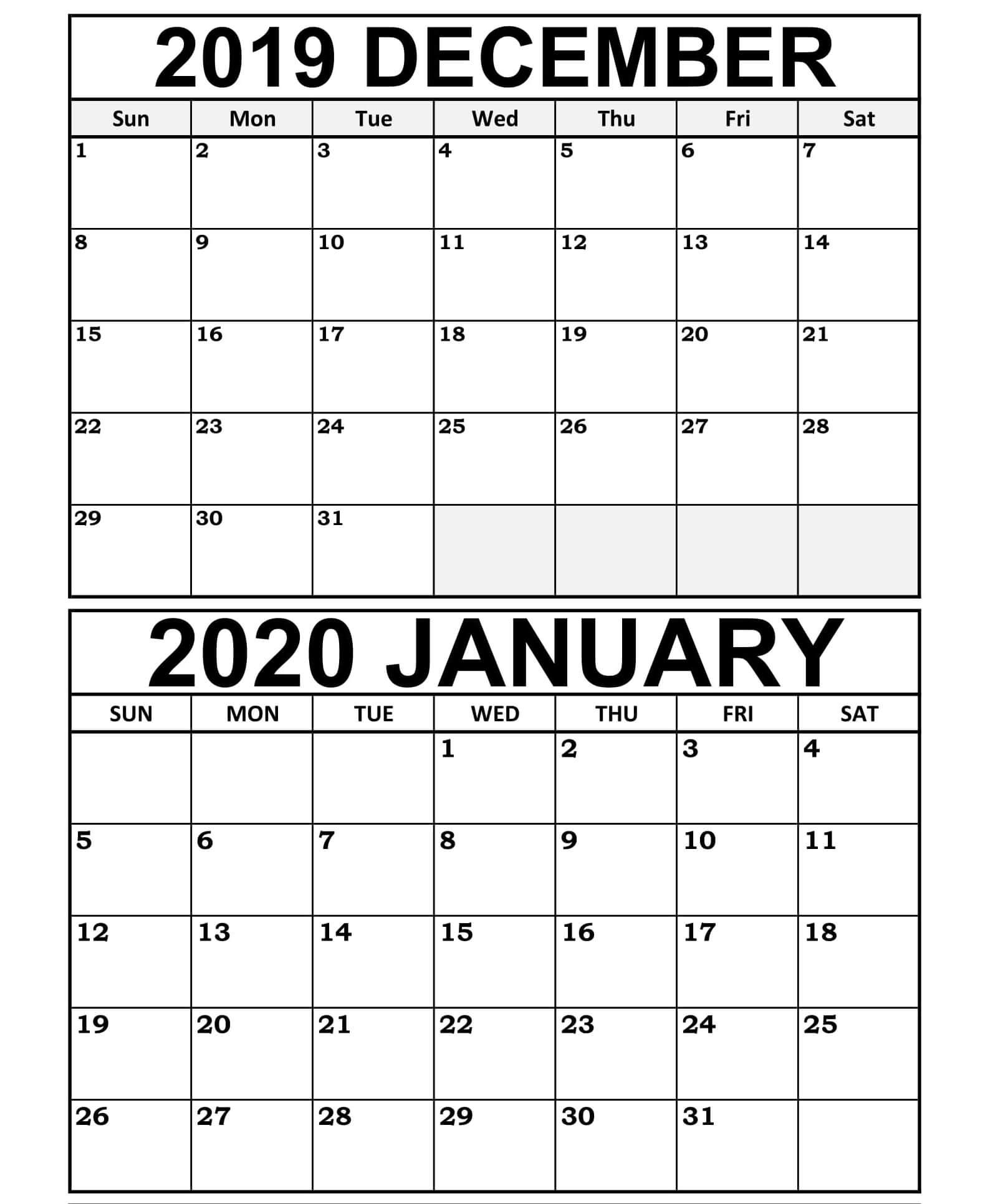 Get Excel 2020 January Thru December | Calendar Printables with regard to Wv 2021 Rut