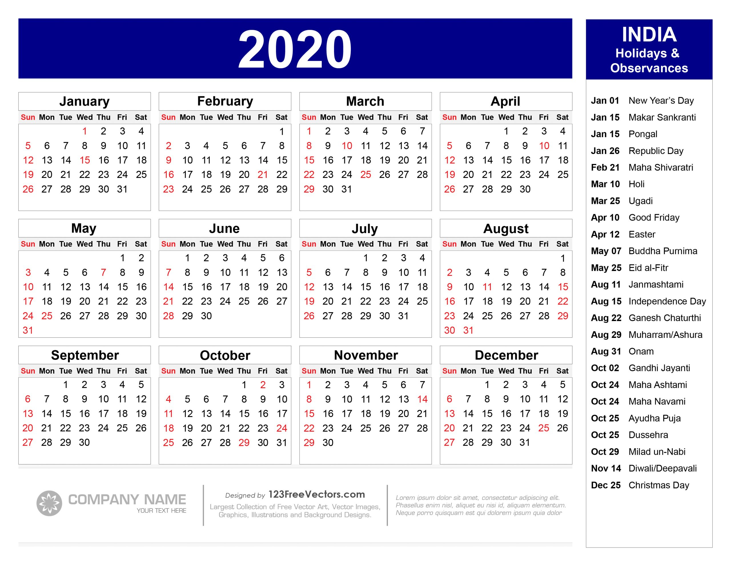 Get Government Calendar 2020 With Holidays | Calendar Printables Free Blank intended for Federal Government Calendar
