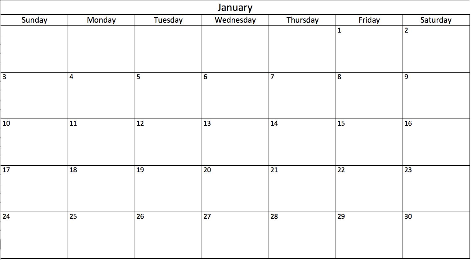 Hướng Dẫn Tạo Lịch 2021 Trong Excel Dễ Nhất - Download.vn pertaining to Fill In Calendar Printable 2021