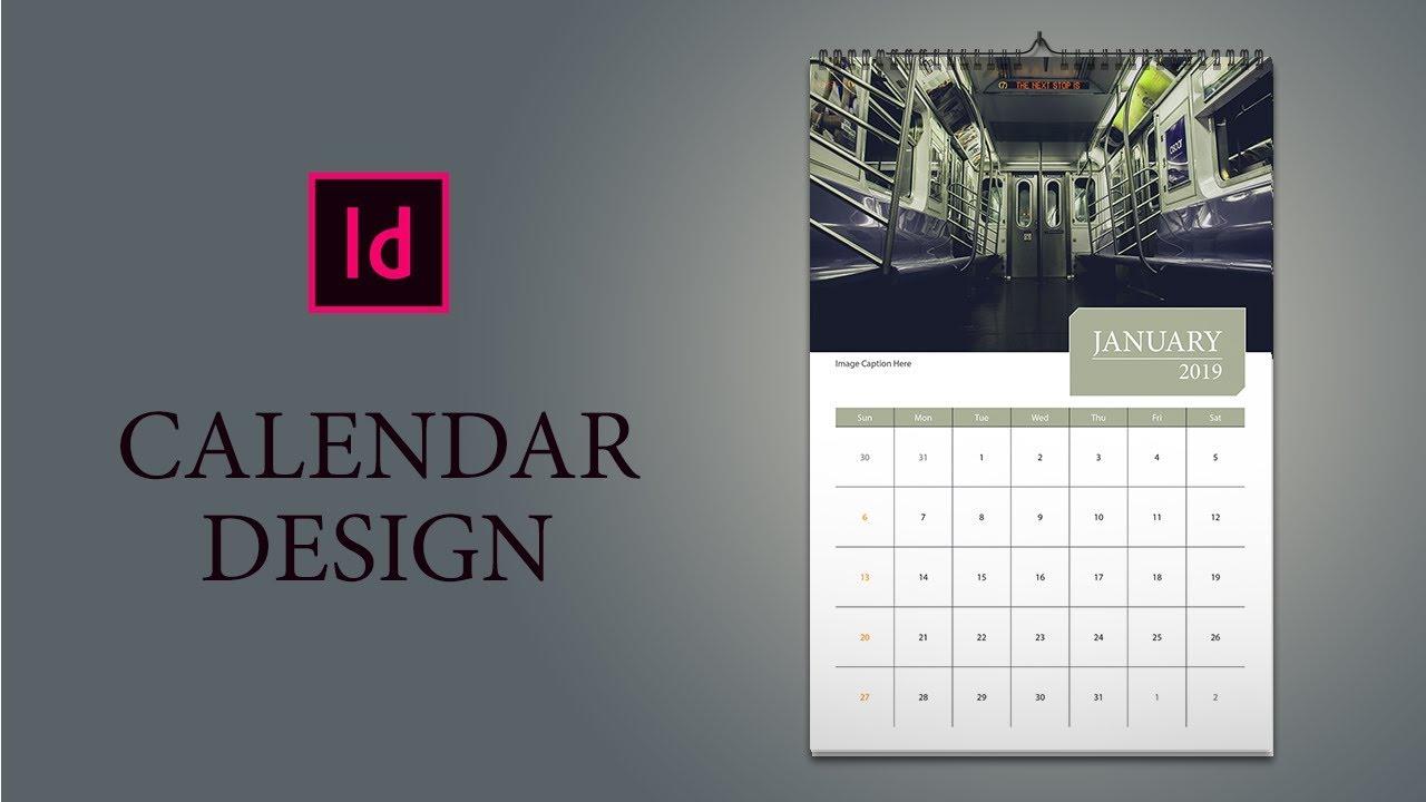 Indesign Calendar Template 2021 | 2022 Calendar for Calendar Wizard Indesign