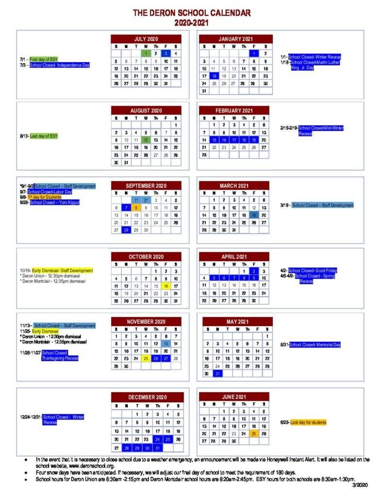 Montclair Calendar 2021 | Printable March inside Aramco Calendar 2021