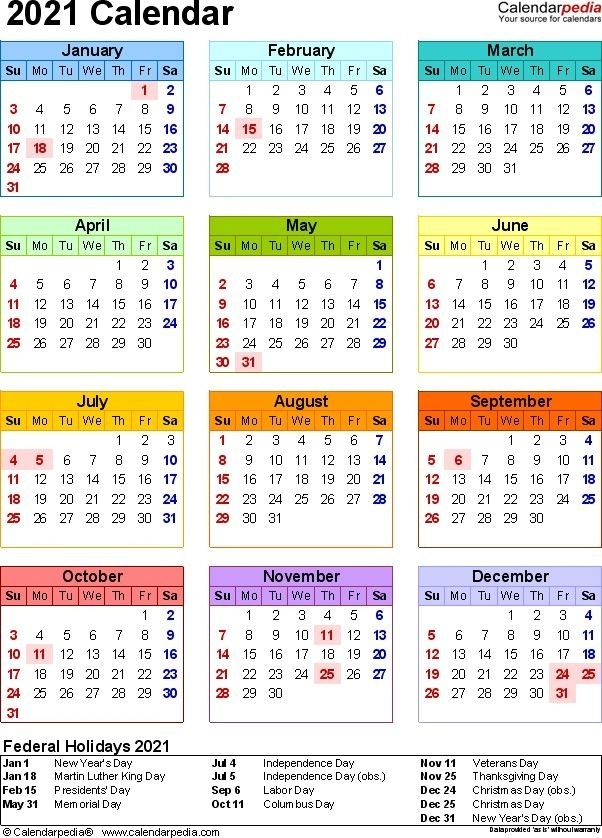 My Calendar 2021 | Qualads intended for Free Fillable Calendar 2021