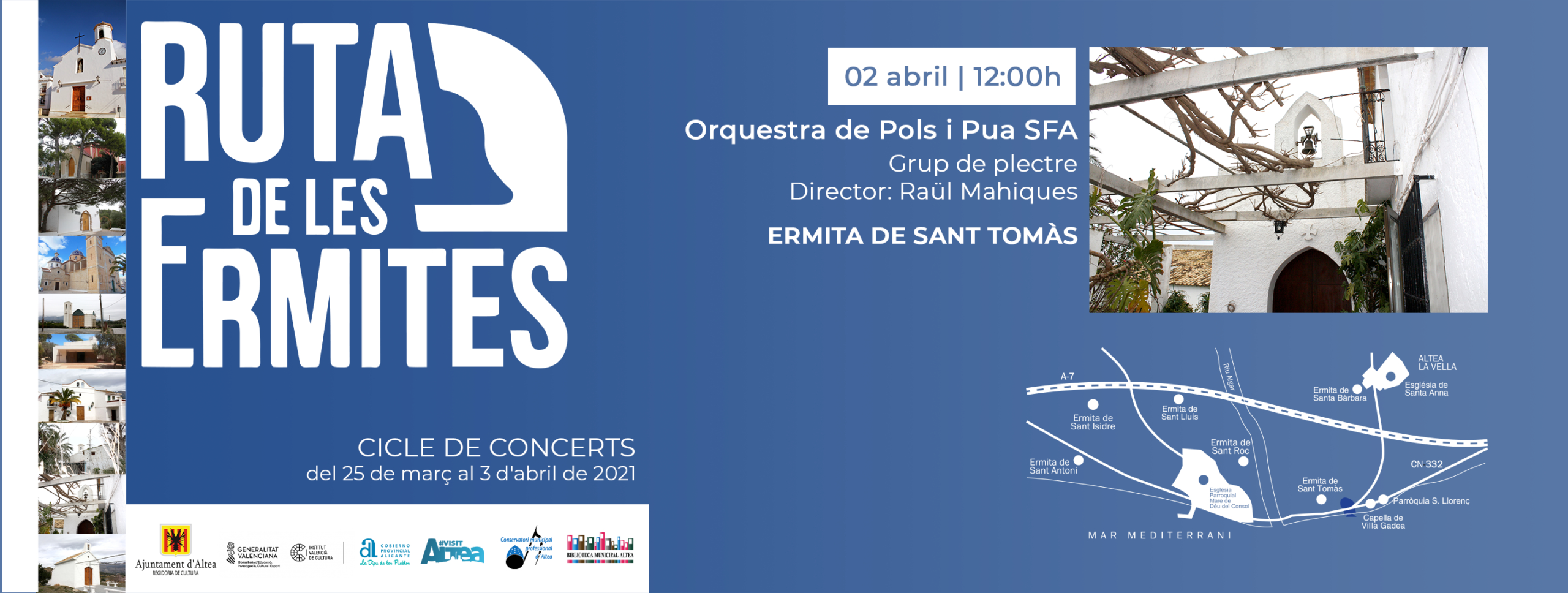Orquestra De Pols I Pua Sfa - Ruta De Les Ermites Altea with Sfa 2021 Calendar