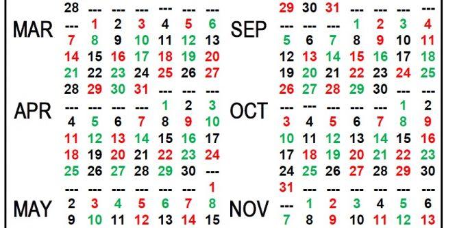Printable 2020 Shift Calendar | Printable Calendar Free within Free Printable Shift Calendars