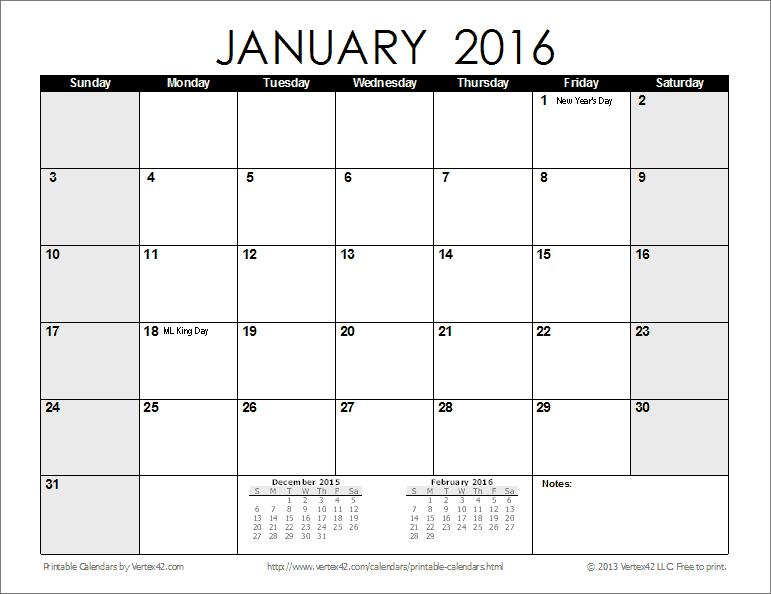 Printable Calendar - Fotolip with Vertex Yearly Calendar