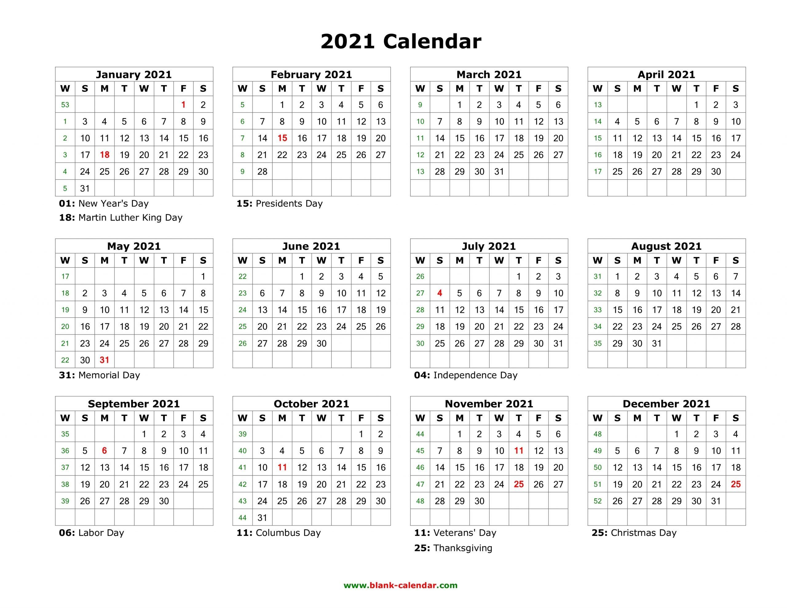 Printable Monday Through Sunday Calendar 2021 - Calendar with regard to Calendar 2021 Monday Through Sunday