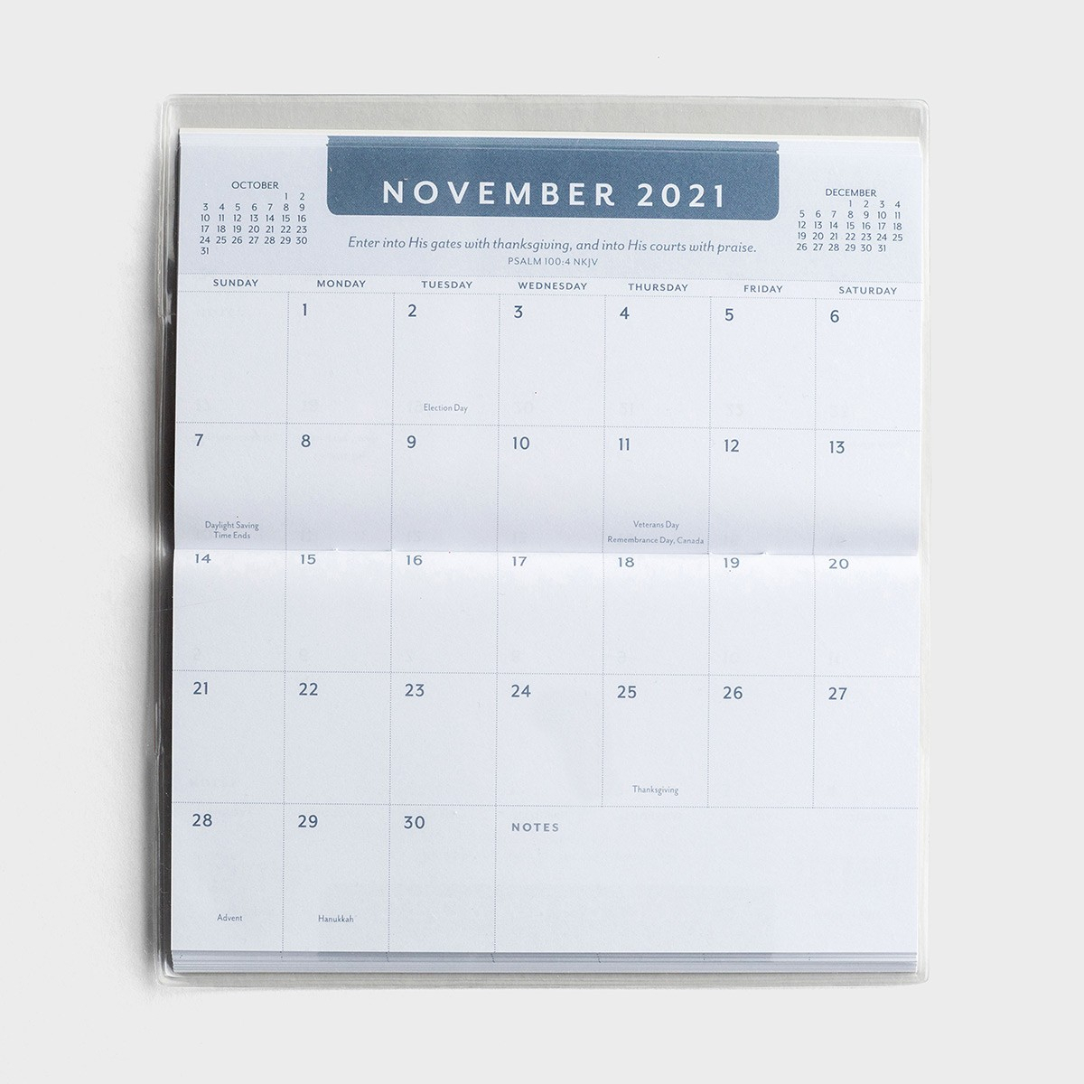 Psalms - 2021-2022 - 28 Month Planner Intended For Monthly pertaining to 2021-2021: 2 Year Calendar Pocket