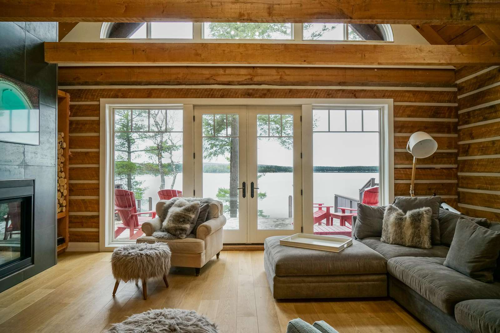 Red Roof Lodge | Jayne'S Cottages | Luxury Muskoka Rentals with regard to The Cozy Red Cottage 2021
