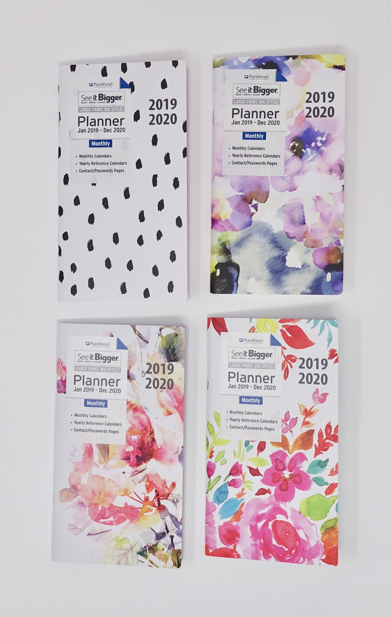 See It Bigger 2-Year Pocket Monthly Planner - Walmart intended for 2021-2021: 2 Year Calendar Pocket