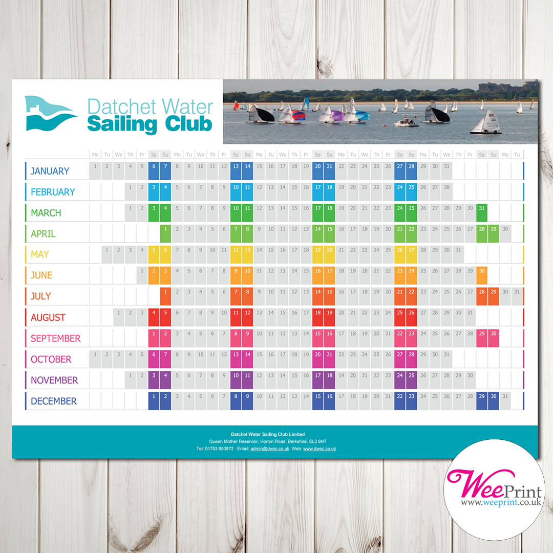 Showcase Your Brand All Year Round With Our Personalised regarding All Year Calendar