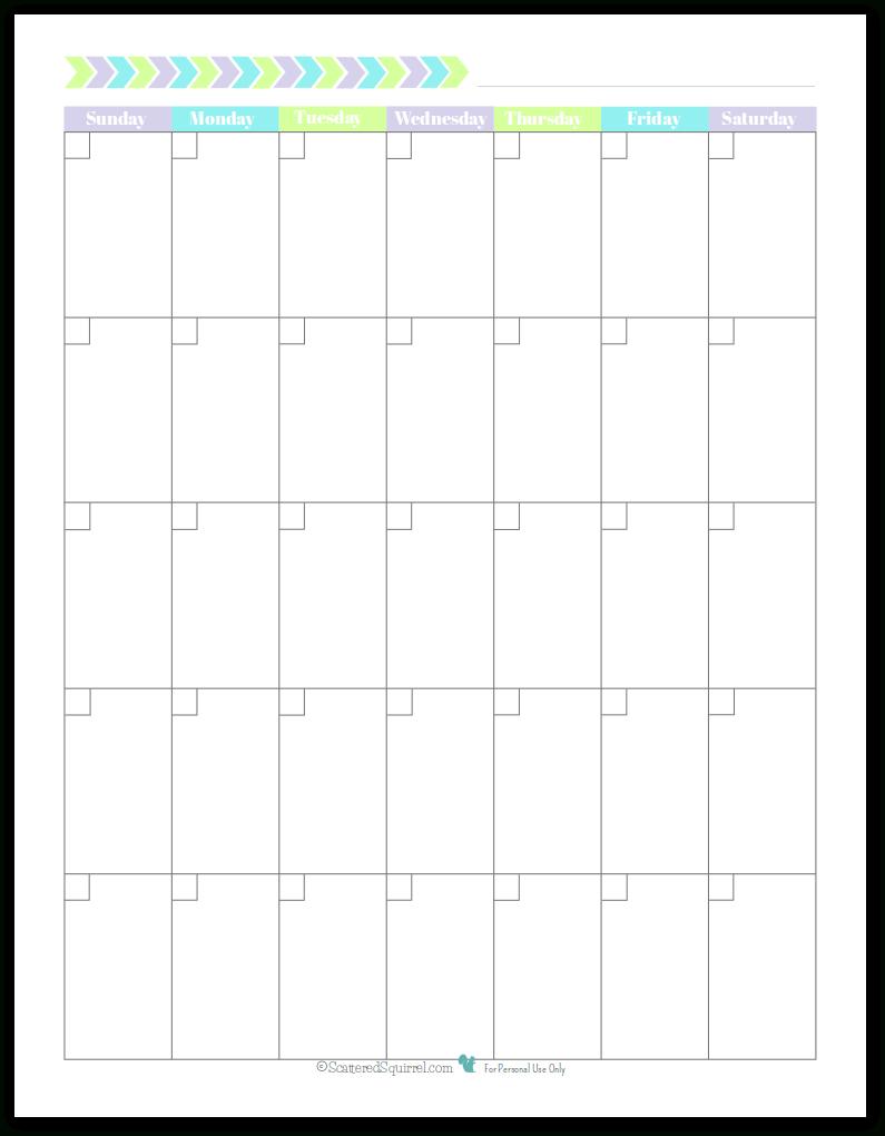 Sunday-Saturday Monthly Calendar Template | Calendar with regard to Sunday Saturday Calendar Template