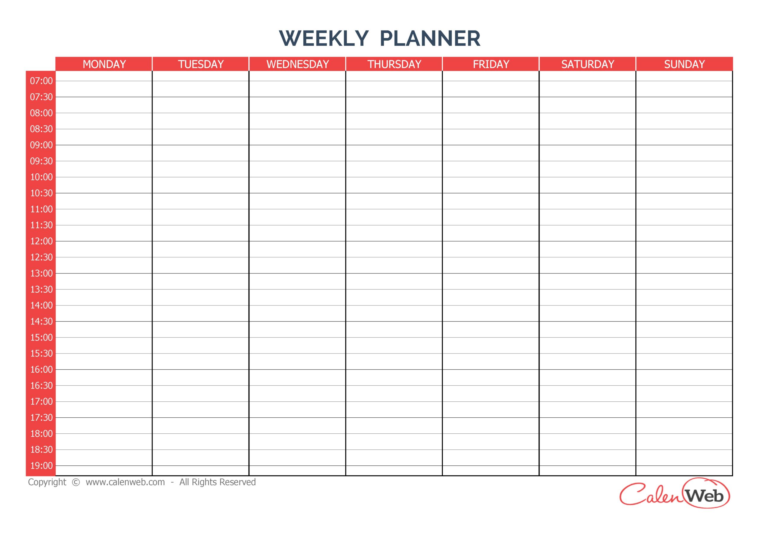 Sunday Through Saturday Calendar | Calendar Printables for Sunday Through Monday Blank Calendar