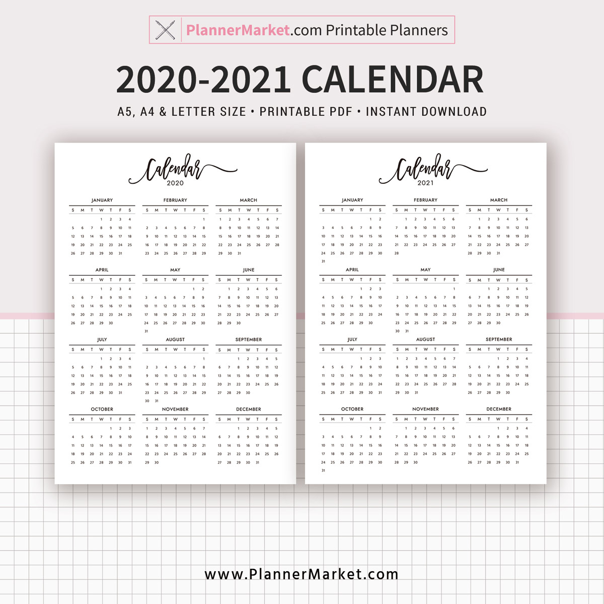 Take Calendar 2020 - 2021 Template | Calendar Printables inside 2021 Calendar Printable Large Squares