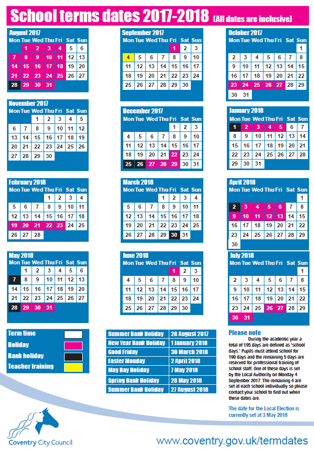 Term Dates - Barr'S Hill School intended for Nus Term Starting Date